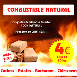 Promo combustible natural